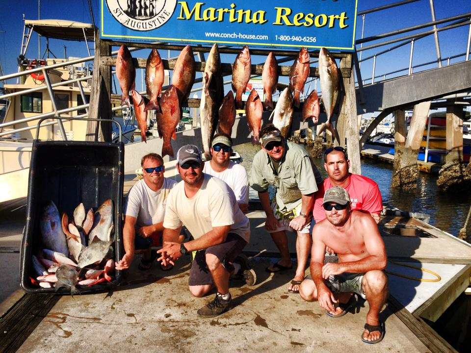 Charter Fishing in St. Augustine