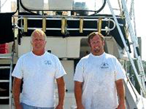 Chater Fishing Father and Son Captains